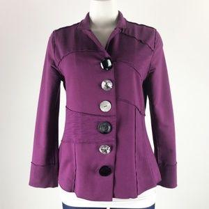 Neon Buddha Purple Jacket Size S
